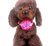свадебные украшения поставщиков оптовых-Pet Puppy Cat Dog блеск цветок регулируемый галстук-бабочка аксессуары ожерелье воротник бантом галстук груминг для домашних животных украшения поставщика Костюм