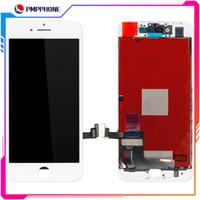 3d sayısallaştırıcı toptan satış-Ücretsiz DHL kargo ile iPhone 7G 7Plus 8G 8plus LCD 3D Dokunmatik Ekran Sayısallaştırıcı Meclisi için büyük Tianma Kalite