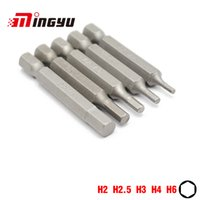 Wholesale tool drill bit sets for sale - Group buy 5Pcs quot mm Hex H2 H6 Screwdriver Bit Set Tools Repair Screwdrivers Kit Hex Shank Drill Bit For Power Household Hand Tools