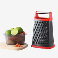 Wholesale cheese peeler resale online - Multifunction Fruit Vegetable Graters Stainless Steel Non Stick Cheese Plane Patato Peelers Kitchen Gadgets Ktichen Accessories