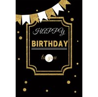 Wholesale polka dot backdrop resale online - Laeacco Baby Happy Birthday To You Polka Dot Ribbon Party Decor Photo Backdrops Photographic Backgrounds Photocall Photo Studio