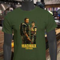 Action Movie  Mad Max Fury Road 2015 Womens Black T-Shirt