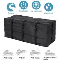 bagageira no tejadilho venda por atacado-120 * 51 * 51 centímetros Car Roof Top Bag Roof Top Bag rack de carga do portador de bagagem armazenamento Rack de viagem 420D impermeável SUV Van para carros