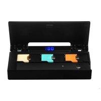 vape power bank оптовых-Мини зарядное устройство с ЖК-индикатором Зарядное устройство Power Bank 1200 мАч COCO Battery Pod Vape Pen DHL бесплатно