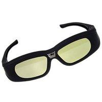 dlp link shutter gläser großhandel-2X 3D Aktiv Shutter DLP-Link Projektor Brille für BenQ Dell Samsung Optoma Sharp ViewSonic Mitsubishi DLP-Link