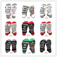 conjunto de drapeado de casamento venda por atacado-Hallmark Natal Filmes Meias Meia de Natal que eu ESTOU assistir filmes Hallmark engraçado meias de inverno quente e macio meias longas para as crianças Adultos