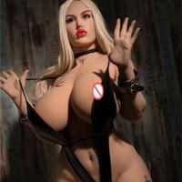 feminino manequins pussy venda por atacado-Fábrica diretamente venda sexo boneca gordura 165cm boneca grande ass sexo realista peitos grandes boneca sexual