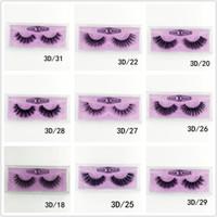Wholesale medium eyelashes for sale - Group buy Medium and long section D Mink Eyelashes Eye makeup Mink False lashes Soft Natural Thick Fake Eyelashes style DHL