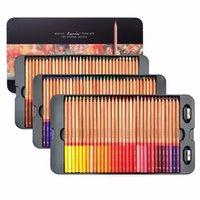 ingrosso disegnare matite-Marco Renoir 24/36/48/72/100 Colori l'insieme della matita Lapices de colores Profesionales Pastelli Matite di coloritura di disegno Set all'ingrosso