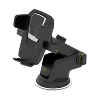 Wholesale dashboard bracket online – Long Lever Model Automatic Locking Mobile Phone Holders Stands Sucker Type Car Cellphone Bracket Dashboard Style Cellphone Nav