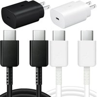 Wholesale lg adapters for sale – best Super Fast Charging Wall charger W Type c usb Cable Power Adapter For Samsung Galaxy s10 note s8 android phone