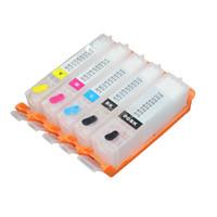 chips cartucho compatível venda por atacado-5 conjuntos PGI470 CLI471 470XL cartucho de tinta Recarregável compatível Para Canon PIXMA MG6840 MG5740 com ARC Chips PGI 470 CLI 471