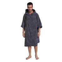 ingrosso abito da bagno di tovagliolo adulto-Cambiare accappatoio Asciugamano da bagno per adulti Asciugamano da spiaggia con poncho Accappatoio da donna Asciugamano da bagno con cappuccio Asciugamani da spiaggia