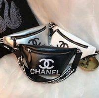 lettre de ceinture masculine achat en gros de-3A + 2019 NEW TOP designer nom ceinture sacs en cuir femmes hommes lettre sacs à bandoulière Ceinture Sac À Bandoulière Femme Sacs Sacs À Main taille