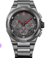 Wholesale tagging gun free resale online - Multiple time zone oversize male watches1513361 GUN METAL SUPER NOVA EDITION CHRONOGRAPH MEN S WA box and Retail