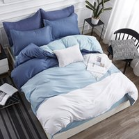 постельное белье  оптовых-3/4 pcs  Comforter Bedding Sets Geometric Pattern Bed Linen Cotton/Polyester Duvet Cover Bed Sheet Pillowcases Cover Set