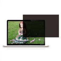 компьютерный экран компьютера оптовых-11 / 13.3 / 14 / 15in Ноутбук Компьютер Конфиденциальность Anti-Peeping Screen Защитная пленка 2019NEW