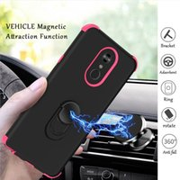 Wholesale galaxy light phone cases for sale - Group buy For Samsung Galaxy note plus note pro case stand mobile phone Triple combo case Full body Rugged Case B