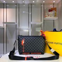 ingrosso borse traverse trapuntate-Borse Donna Designer cuore di amore di Bag Mini catena Flap Crossbody borse di alta qualità di cuoio reale Quilted Borsa: N42416size: 37cm26cm7cm