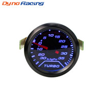 Wholesale blue car gauges for sale - Group buy 2 quot mm Auto Turbo Boost Gauge PSI Smoke Dial Blue LED Light Interior Dash Car Meter
