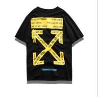 bilder qualität passt großhandel-Schwarz Weiß Mode Sommer Männer T Shirts Sommer Baumwolle Tees Skateboard Hip Hop Streetwear T Shirts