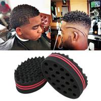 Wholesale hair twisting tool sponge for sale - Group buy Magic Barber Hair Salon Twist Tools Barber Sponge Curls Hair Brush for Dreads Afro Locs Twist Curl Coil Magic Twist Hair Styling Tool