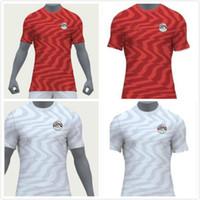 footbal jersey großhandel-Ägypten-Trikot von 2019 M. SALAH Home Red 19 20 KAHRABA A. HEGAZI Soocer Uniformen RAMADAN Trikots Hemden