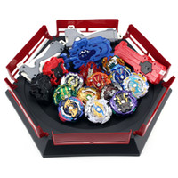 Wholesale beyblades toys set for sale - Group buy TAKARA TOMY Combination Beyblade Burst Set Toys Beyblades Arena Bayblade Metal Fusion D with Launcher Spinning Top Toys Y200428