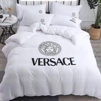 Wholesale quilt sets bedding for sale - Group buy Branded Cotton Home Textile Soft Bedding Set Bed Solid Duvet Cover Asian Size Quilt Cover Brief Bedclothes