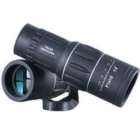 observation des oiseaux au télescope achat en gros de-Télescope monoculaire HD Travel 16x52 à double mise au point Zoom Jumelles monoculaires puissantes Des temps élevés pour des cadeaux d'observation d'oiseaux Les meilleurs monoculaires