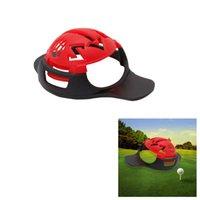 mark golf topu toptan satış-Spor Eğlence 6 in 1 Golf Topu Hattı Liner Marker Şablon Çizim Hizalama Işaretleri Işareti Aracı Golf aksesuarları