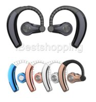 bluetooth kulaklık perakende kutusu toptan satış-Perakende kutusu Mikrofon ile Akıllı Telefon için kulak Spor Stereo T9S Twins Kablosuz Bluetooth Kulaklık Kulaklık Kulaklık