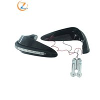 Wholesale led dirt bike lights for sale - Group buy Motorcycle Motocross Dirt Bike Handguards Handlebar Hand Guard Protector with LED Turn Signals White Light