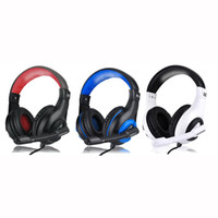 Wholesale headset mic ipad resale online - Top selling gaming headsets Headphone for PC XBOX ONE PS4 IPAD IPHONE SMARTPHONE Headset headphone ForComputer Headphone