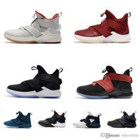 wholesale dealer 0b252 9ec86 Wholesale lebron soldier 12 online - Cheap Women lebron soldier basketball  shoes Black Red Bred White
