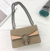 ingrosso borsa mini tote-New Fashion Women Mini Chain Bag Borsa a tracolla Pochette Messenger Borsa Borse Portafoglio Borsa Designer Cosmetici Borse a tracolla con scatola