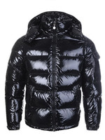 Wholesale red black hats for sale - Group buy HOT New Men Women Casual Down Jacket Down Coats Mens Outdoor Warm Feather Man Winter Coat outwear Jackets Parkas