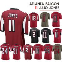 1cb8eae1f72 11 Julio Jones Jersey 21 Deion Sanders 2 Matt Ryan Atlanta jerseys Falcon18  Ridley Jersey Limited 24 Devonta Freeman Jerseys mens