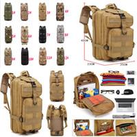 sırt çantası askeri molle taktik toptan satış-12 stil Yüksek Kalite Yürüyüş Kamp Çantası Askeri Taktik Trekking Sırt Çantası Sırt Çantası Kamuflaj Molle Sırt Çantaları Saldırı Sırt Çantaları dc480