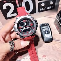 Wholesale waterproof military watches for men resale online - Top brand luxury men sport watches big dial G Style Military Wristwatches Multifunction LED Digital Shock waterproof Quartz watch for men s