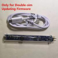 sim kart usb dongle toptan satış-yalnızca en yeni sürüm için çift sim kilidini kartı güncelleme firmware için USB Kablosu ile Tek Akıllı Okuyucu ve Yazıcı Dongle Kalem