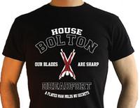 Wholesale work housing resale online - Work Shirts Short Sleeve Men Fashion Crew Neck House Bolton T Shirts