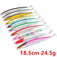 Wholesale minnow lures saltwater for sale - Group buy 10 Color cm g Minnow Fishing Hooks Fishhooks Hook Hard Baits Lures Fishing Tackle f