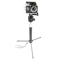 Wholesale gopro sports camera mounts resale online - Mini Portable Desktop Tripod Stand With quot Screw Mount Ball Head Selfie Stick for Gopro SJCAM Xiaoyi Sport Cameras Camera Cellphone