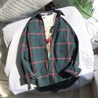 gepaßte flanellhemden großhandel-Der Plaid-Flanell-Hemd-Frühling der neuen Männer bequeme männliche dünne Sitz-Geschäfts-beiläufige langärmlige Hemden für die Art- und Weiseweiche Hemden der Männer