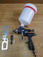 spray lvlp venda por atacado-Spary Gun LVLP 5500 P pistolas de pulverização bico 1.3mm Air Paint 600 ml copo Lisson frete grátis atacado fábrica profissional