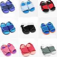 Wholesale kids summer sandals boys for sale - Group buy Kids Designer Shoes Boys Girls Sports Sandals Brand Magic Sticker Sandale Teenagers Children Soft Slippers Outdoor Beach Shoes NEW C62801