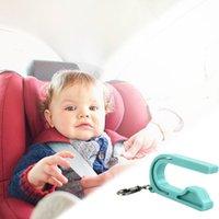Wholesale green seat belts resale online - 1Pcs New Children Car Safety Seat Lock Buckle Belt Keychain Kids Car Seat Belt Unbuckler Accessories
