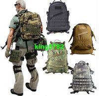 dağcılık sırt çantası toptan satış-55L 3D Açık Spor omuz Taktik tırmanma dağcılık Sırt Çantası Kamp Yürüyüş Treking Sırt Çantası Seyahat Sırt Çantaları erkek bagaj Çantası