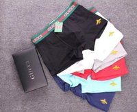 Wholesale underwear boxer briefs for girls for sale - Group buy BD louis vuitton Boxer Brief For Man ABD gucci Sexy Underwear Mens Boxers Underwears Shorts Fish Pattern Male Boxer Shorts